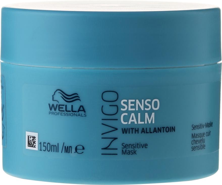Maschera lenitiva per cuoio capelluto sensibile - Wella Professionals Invigo Balance Senso Calm Sensitive Mask