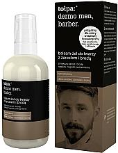 Profumi e cosmetici Gel balsamo per viso con barba - Tołpa Dermo Men Barber