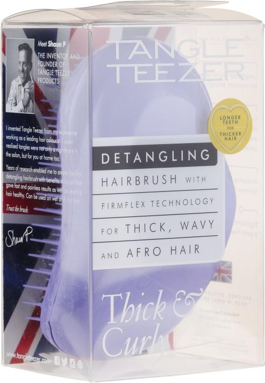 Pettine per capelli folti e ricci, lilla - Tangle Teezer Detangling Thick & Curly Lilac Fondant
