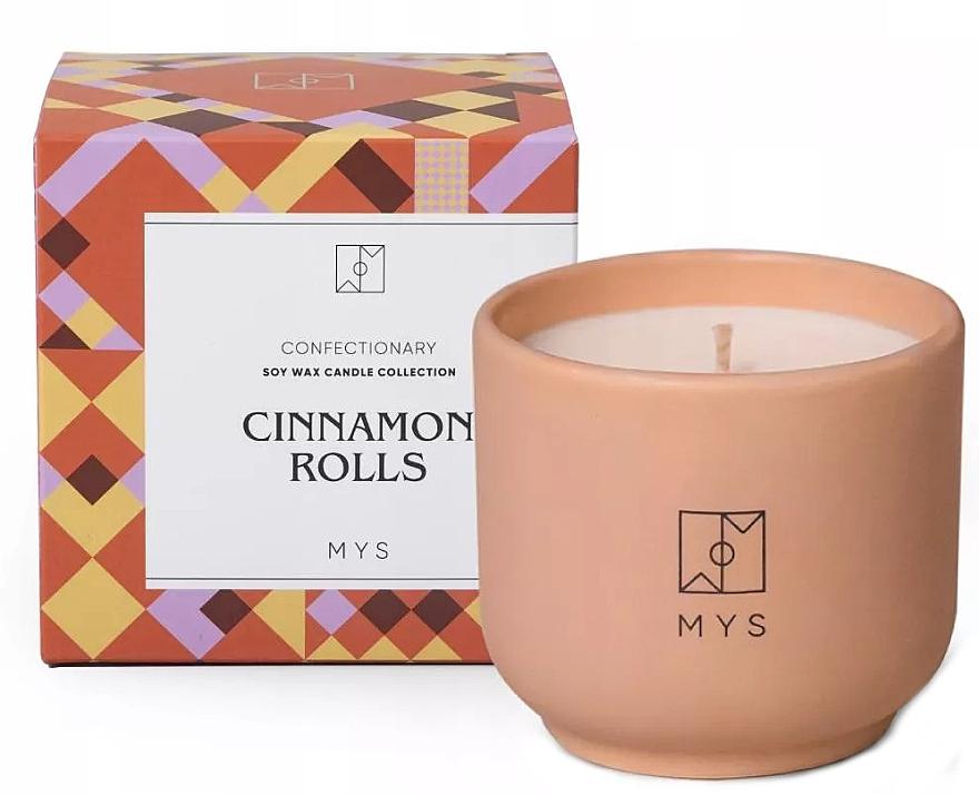 """Candela di Soia """"Rotolo di cannella"""" - Mys Cinnamon Rolls Candle — foto N1"""