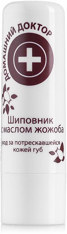 Balsamo labbra con olio di jojoba e rosa canina - Domashnyi Doctor