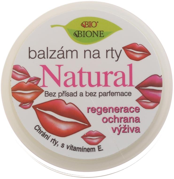 Balsamo naturale labbra - Bione Cosmetics Vitamin E