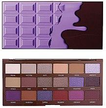 Profumi e cosmetici Palette ombretti, 18 tonalità - I Heart Revolution Eyeshadow Palette Violet Chocolate