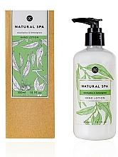 Profumi e cosmetici Lozione mani - Accentra Natural Spa Eucalyptus & Lemon Grass Hand Lotion