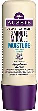 Profumi e cosmetici Balsamo per capelli idratante - Aussie 3 Minute Miracle Moisture Deep Treatment
