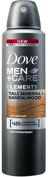 """Deodorante per uomo """"Talco e Sandalo"""" - Dove Men+Care Elements Talc Mineral+Sandalwood"""