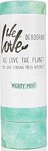Profumi e cosmetici Deodorante solido rinfrescante - We Love The Planet Mighty Mint Deodorant Stick