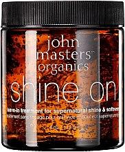 Profumi e cosmetici Rimedio per ammorbidire e lucidare i capelli - John Masters Organics Shine On Leave-in Hair Treatment