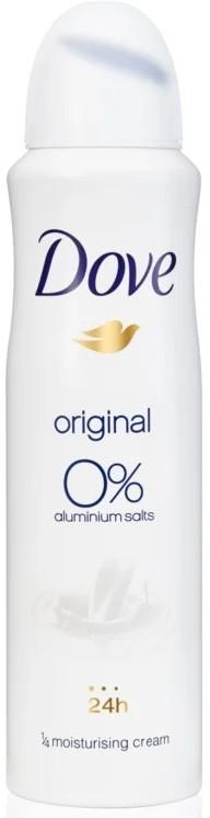 """Deodorante spray """"Originale"""", senza alluminio - Dove Original Deo Spray"""