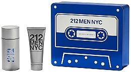 Profumi e cosmetici Carolina Herrera 212 Men NYC - Set (edt/100ml + sh/gel100ml)