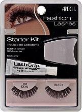 Profumi e cosmetici Set - Ardell Fashion Lashes Starter Kit Demi Black 101