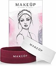 Profumi e cosmetici Set fasce elastiche per capelli - MakeUp Marsala & White (2 pz)