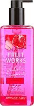 "Profumi e cosmetici Sapone mani ""Rabarbaro e melograno"" - Grace Cole Fruit Works Hand Wash Rhubarb & Pomegranate"