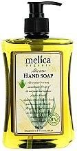 Profumi e cosmetici Sapone liquido con estratto di aloe - Melica Organic Aloe Vera Liquid Soap