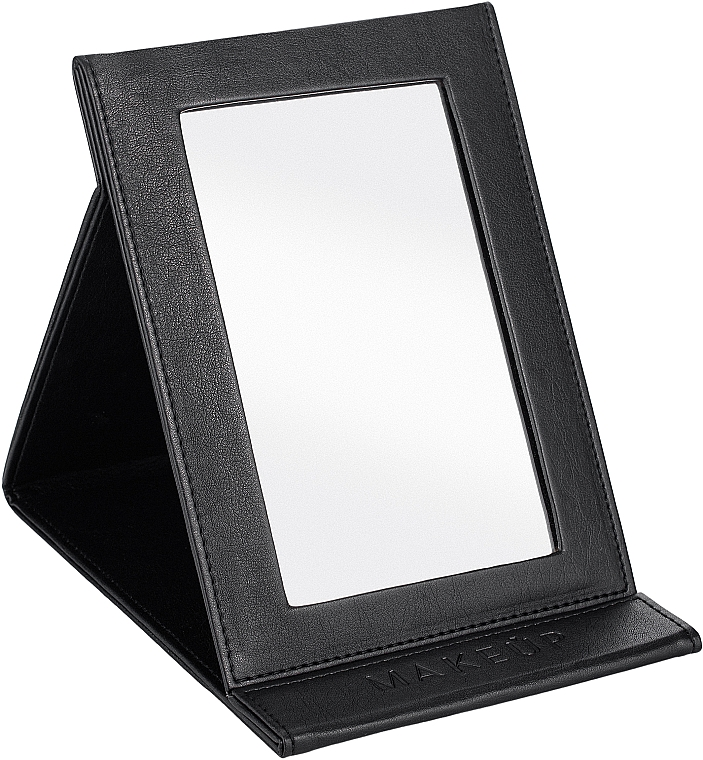 Specchio cosmetico, nero - MakeUp Tabletop Cosmetic Mirror Black