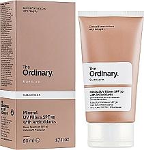 Profumi e cosmetici Crema solare con filtri minerali - The Ordinary Suncare Mineral UV Filters SPF30 Antioxidants