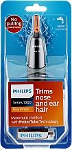 Profumi e cosmetici Trimmer per naso e orecchie - Philips NT1150/10