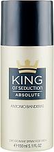 Profumi e cosmetici Antonio Banderas King of Seduction Absolute - Deodorante-spray