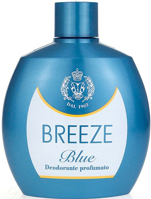 Breeze Squeeze Deodorant Blue - Deodorante corpo