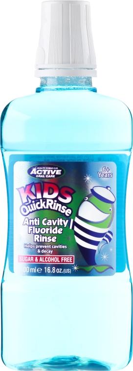 Collutorio per bambini - Beauty Formulas Active Oral Care Quick Rinse
