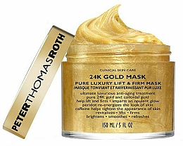 Profumi e cosmetici Maschera viso - Peter Thomas Roth 24k Gold Mask Pure Luxury Lift & Firm