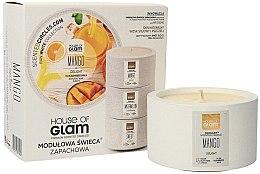Profumi e cosmetici Candela profumata - House of Glam Mango Delight Candle