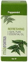 """Profumi e cosmetici Olio essenziale """"Menta piperita"""" - Holland & Barrett Miaroma Peppermint Pure Essential Oil"""