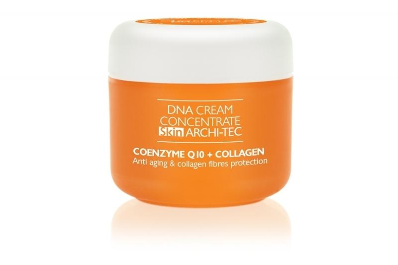 Crema concentrata con coenzima Q10 e collagen, per viso, collo e décolleté - Dermo Pharma DNA Cream Concentrate Skin Archi-Tec Coenzyme Q10 + Collagen