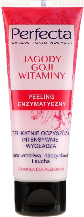 """Peeling enzimatico viso """"Bacche di goji e vitamine"""" - Perfecta"""