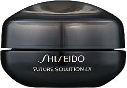 Profumi e cosmetici Crema contorno occhi e labbra - Shiseido Future Solution Eye and Lip Contour Cream