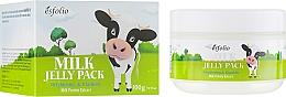 Profumi e cosmetici Maschera lifting al latte con memoria di forma - Esfolio Milk Shape Memory Jelly Pack