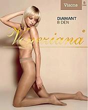 """Profumi e cosmetici Collant donna """"Diamant"""", 8 Den, colore Visone - Veneziana"""
