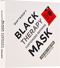 Profumi e cosmetici Maschera detergente per viso - Duft & Doft Black Therapy Customized Refining Mask