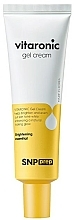 Profumi e cosmetici Crema-gel illuminante con vitamina C - SNP Prep Vitaronic Gel Cream