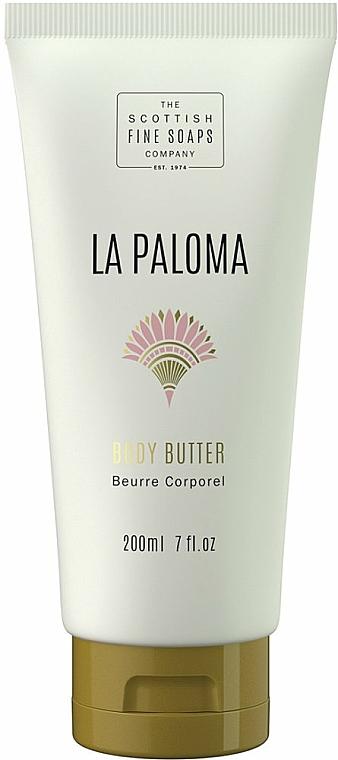 Olio corpo - Scottish Fine Soaps La Paloma Body Butter — foto N1