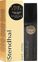 Profumi e cosmetici Siero anti-età - Stendhal Pur Luxe Total Anti-Aging Serum
