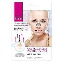 Profumi e cosmetici Cerotti per la rimozione dei punti neri dal naso - Czyste Piekno Nose Pack