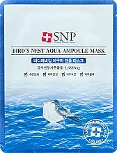 Profumi e cosmetici Maschera ringiovanente con estratto di nido di rondine - SNP Birds Nest Aqua Ampoule Mask