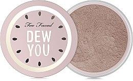 Profumi e cosmetici Cipria sfusa - Too Faced Dew You Fresh Glow Translucent Setting Powder