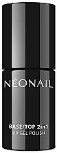 Profumi e cosmetici Rivestimento per smalto gel 2 in 1 - NeoNail Professional Base/Top 2in1 UV Gel Polish