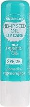 Profumi e cosmetici Balsamo labbra con olio di canapa biologico - GlySkinCare Organic Hemp Seed Oil Lip Care