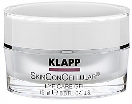 Profumi e cosmetici Gel per le palpebre - Klapp Skin Con Cellular Eye Gel
