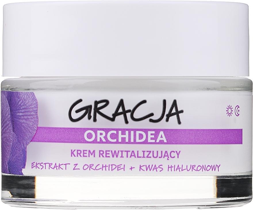 Crema anti-rughe rivitalizzante con estratto di orchidea e acido ialuronico - Gracja Orchid Revitalizing Anti-Wrinkle Day/Night Cream