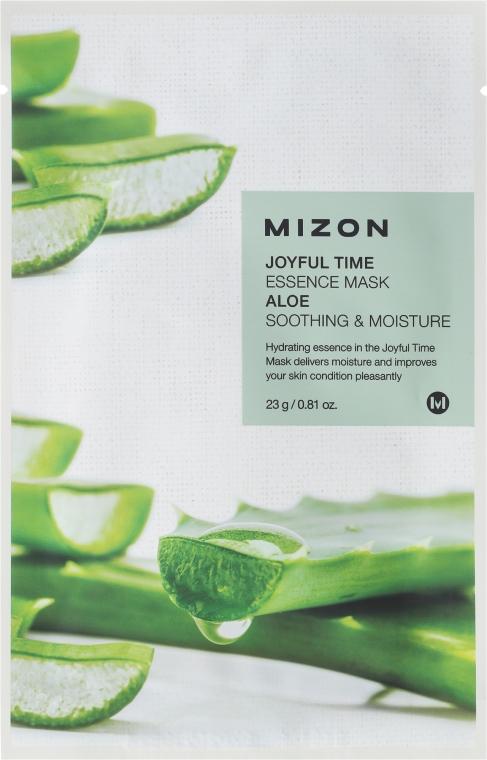 Maschera in tessuto con estratto di aloe - Mizon Joyful Time Essence Mask Aloe
