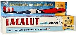 """Profumi e cosmetici Dentifricio """"Multi-Effect"""" - Lacalut (dentifricio / 75 ml + spazzolino da denti)"""