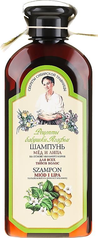 """Shampoo """"Miele e tiglio"""" - Ricette di nonna Agafya"""