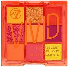Profumi e cosmetici Palette di ombretti - W7 Vivid Fluorescent & Fabulous Pressed Pigments