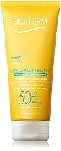 Profumi e cosmetici Crema solare viso e corpo SPF 50 - Biotherm Lait Solaire Hydratant SPF 50