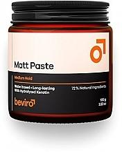 Profumi e cosmetici Pasta per capelli - Beviro Matt Paste Medium Hold