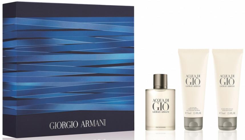 Giorgio Armani Acqua Di Gio Pour Homme - Set (edt/50ml + sh/gel/75ml + ash/balm/75ml)